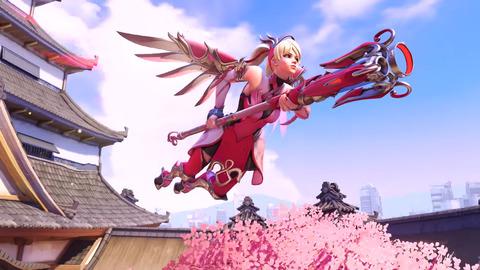 Overwatch-Pink-Mercy-Skin