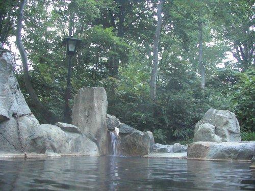 小谷温泉露天風呂