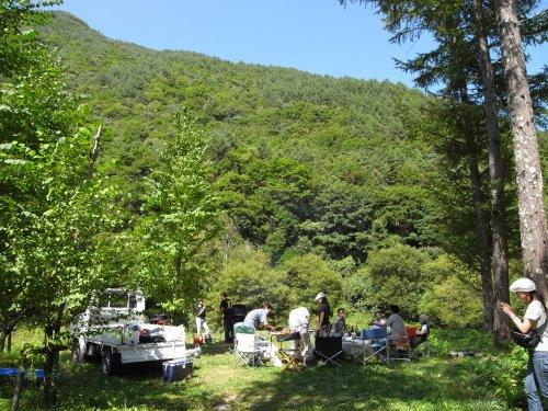 武石キャンプ