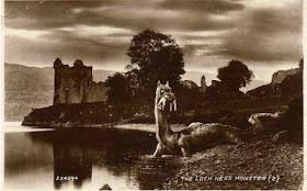 Nessie With Prey 1934