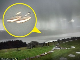 UFOs over Loch Ness