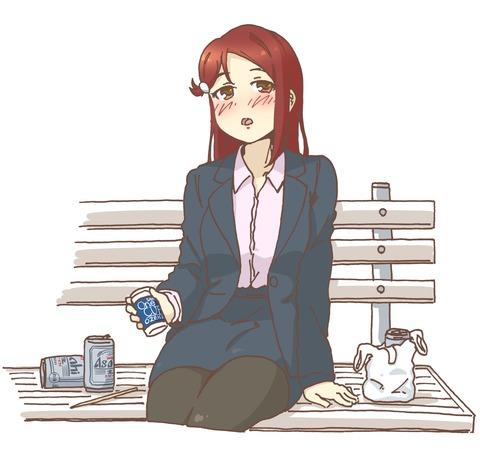 曜「たまには居酒屋もいいね」梨子「うぇーい!」