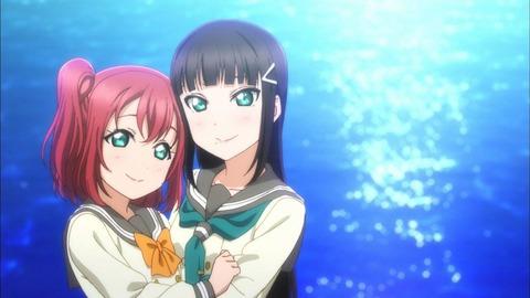 ルビィちゃんが姉でダイヤちゃんが妹の黒澤姉妹