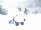 鷲ヶ岳スキー場にて