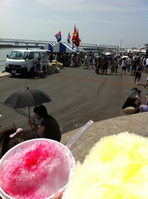 赤須賀漁業祭り1