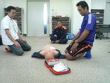 救命措置の講習3