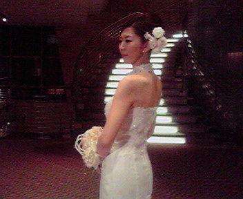 花嫁モデル?