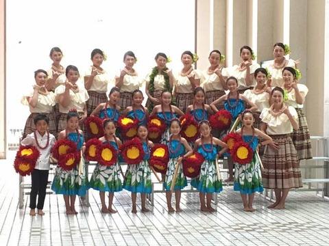 フラダンス教室Hui O Na Pua Hala Aloha