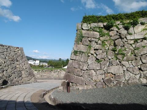 篠山城跡石垣