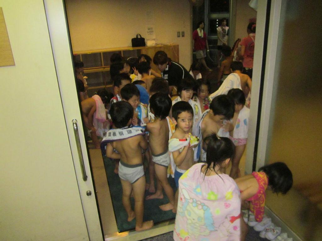 幼稚園 入浴