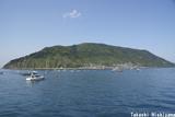 祝島とホクレア号