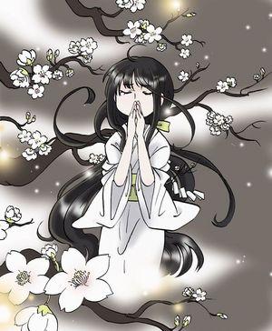 血染めの染雪吉野桜