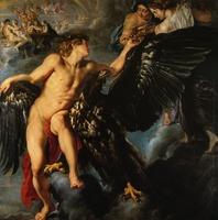 1611-1612  Rubens Ganymede et l'Aigle  Ganymede and the Eagle
