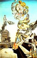 Salvador Dali - The Lugubrious Game - 1929
