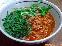 激烈赤麺完成品