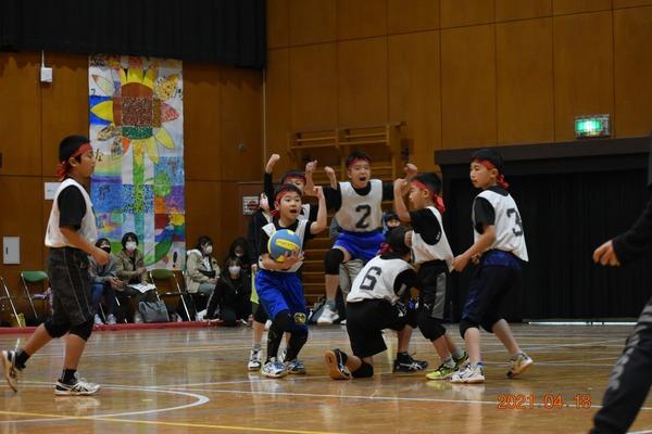 練習試合@飯倉小学校(2021年4月18日)