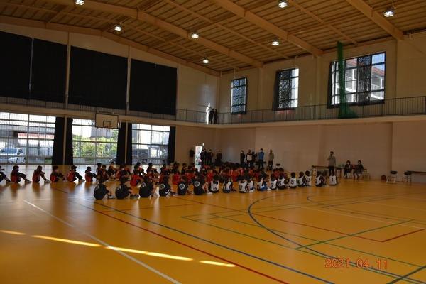 練習試合@金武小学校(2021年4月10日)