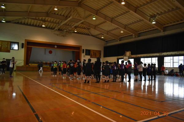 練習試合@弥永小学校(2021年4月29日)