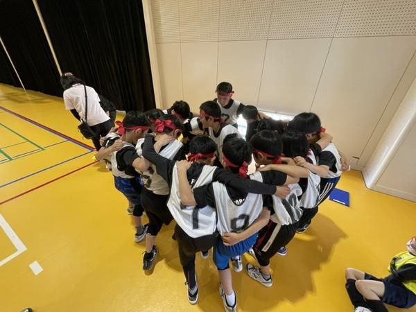 練習試合@志免町西地区体育館(2021年4月11日)