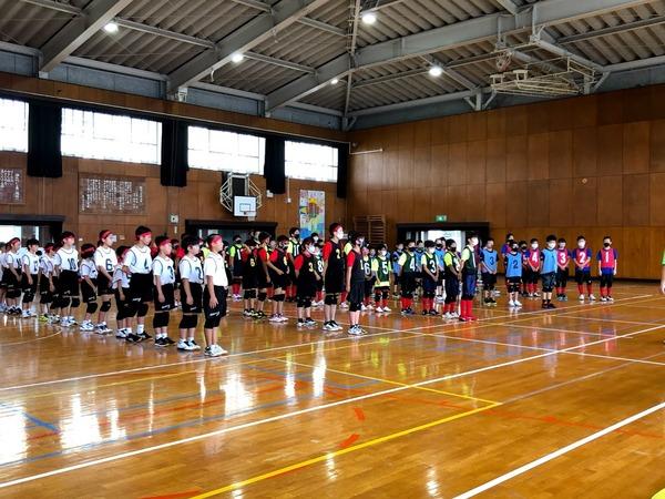 2021年7月4日練習試合@飯倉小学校