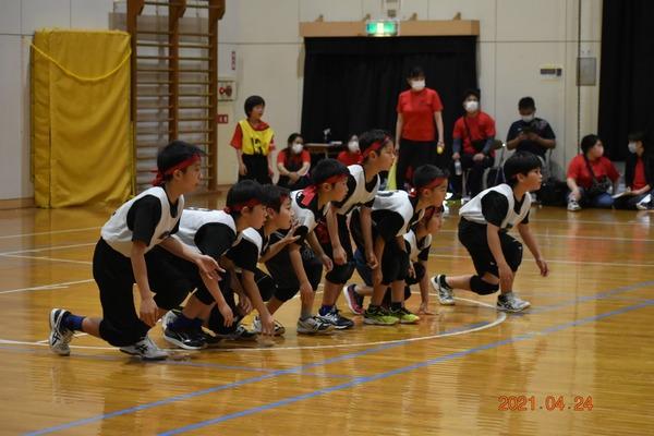 練習試合@飯倉中央小学校(2021年4月24日)