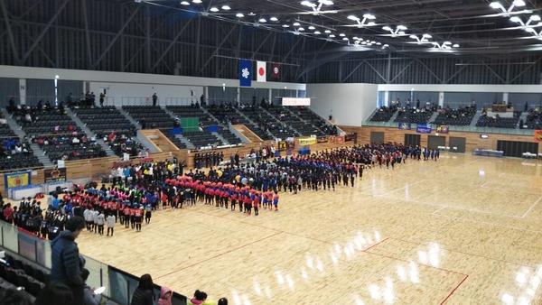 第23回新春小学生親善ドッジボール大会(2020年1月5日)