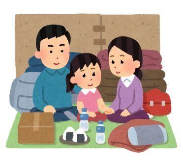 hinanjo_seikatsu_family_smile ⑪