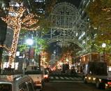 丸の内の東京ミレナリオにも明かりが・・・。