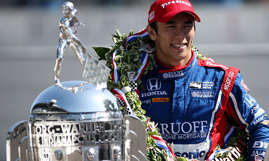 05-29-Sato-With-BorgWarnerTrophy-V2