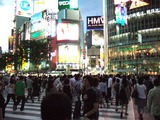 渋谷の夕方