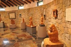 前島木彫り