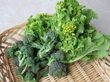 菜花とブロッコリー