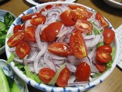 我が家のサラダ