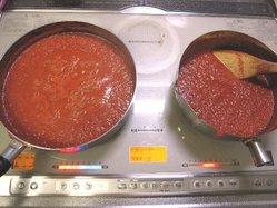 トマトピューレ作り1