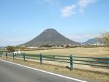 冬の飯野山