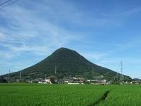今朝の飯野山