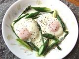 アスパラ卵