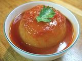 玉ネギのトマト煮