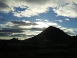 夕方の飯野山