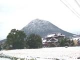 雪の飯野山