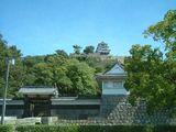 真夏の丸亀城