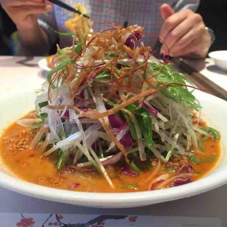 焼きそばが好きです。がー(梅蘭 コレットマーレみなとみらい店@みなとみらい/横浜)