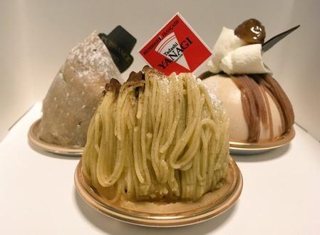 タダシヤナギのモンブラン、和栗のほっこりと上品なミルク感のシャンティ。そのマリアージュにうっとりです(タダシヤナギ@新宿)
