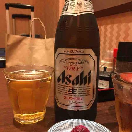 とんかつ檍 ビール