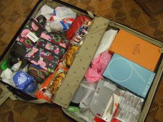 2007年ニューヨーク旅行のスーツケース大