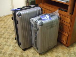 入れ子式スーツケース大小