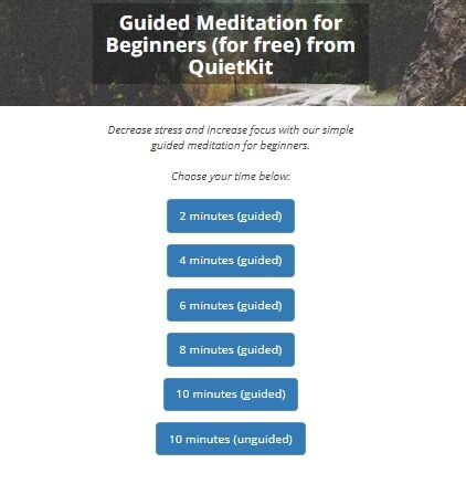 QuietKit_ Guided Meditation for Beginners (for fre