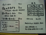 20100828_谷町きんせい_メニュー1