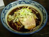 麺彩 赤のれん_醤油