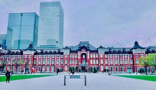 東京駅_自粛